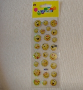 Sticker Aufkleber 25 Smiley´s aller Art