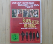 Burn After Reading DVD Film