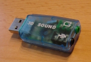 Soundkarte USB 5.1 3D Surround Sound
