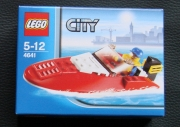 LEGO City Boot 4641 - Speedboot