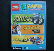 Lego 3 Games Pack - Stunt Rally Creator