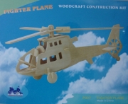 Fighter plane Kit aus Holz Woodcraft