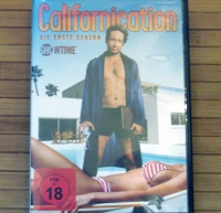 Californication Die erste Season 2 DVDs