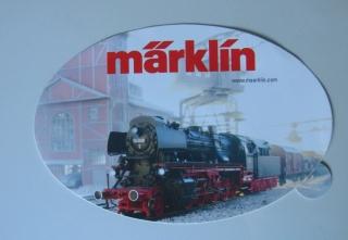 MÄRKLIN Aufkleber Lokomotive Motiv 2x