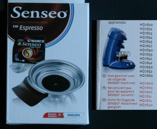 Senseo Einsatz Espresso Pad Latte Select