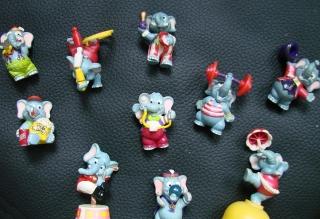 10 Üei Zirkus Elefanten wie Happy Hippo