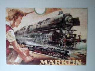 MÄRKLIN Postkarte Motiv vom Katalog 1951