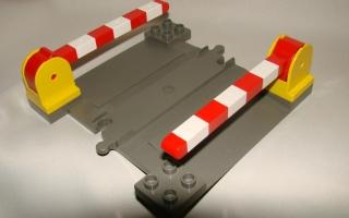 Lego Duplo Eisenbahn Schranke