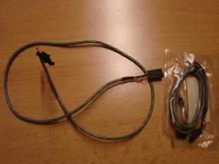 CD  und  DVD Sound Kabel - weiss und schwarz