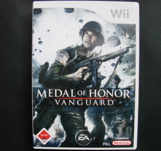 Originalbild zum Tauschartikel Wii Medal of Honor: Vanguard Weltkrieg