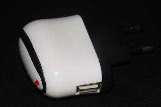 230V USB-Netzteil weiss Reiselader Mini
