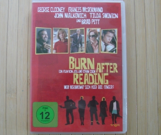 Originalbild zum Tauschartikel Burn After Reading DVD Film