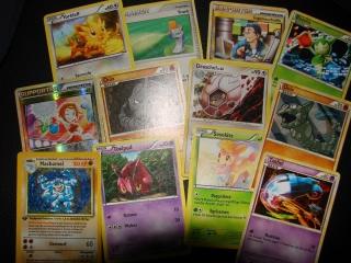 10x Pokemon Karten