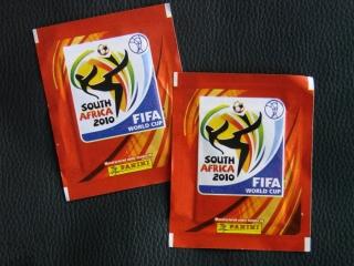 Fussball WM 2010 - 2 Packs Sticker Fifa
