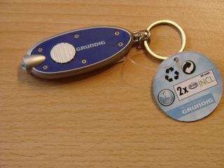 Schlüsselanhänger Taschenlampe LED Mini