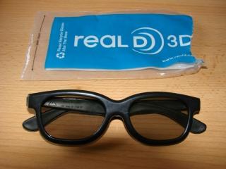 3D Brille auch für Kino Real 3D