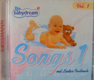 Originalbild zum Tauschartikel Babydream Songs CD 1 mit Lieder-Textbuch