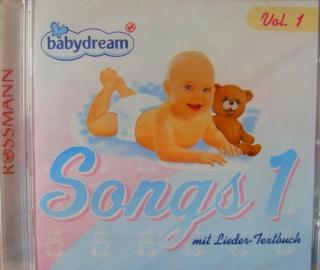 Babydream Songs CD 1 mit Lieder-Textbuch