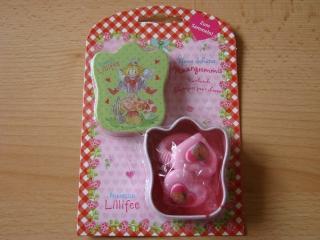 Prinzessin Lillifee 2 rosa Haargummis