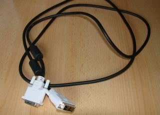 Hochwertiges DVI Monitor Kabel