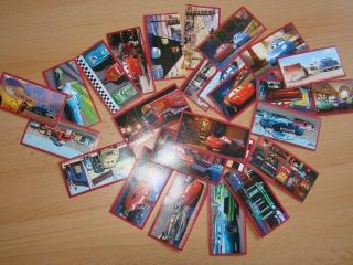 25x Cars 1 Sticker für Panini Album
