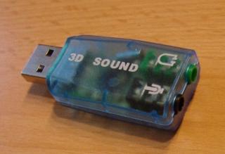 Soundkarte USB 5.1 3D Surround Sound