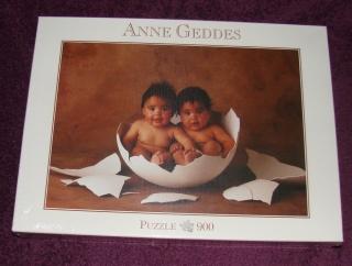 Anne Geddes Puzzle - zwei Babys