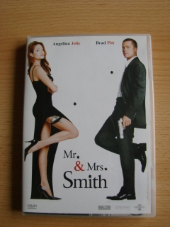 Mr.  und  Mrs. Smith DVD Brad Pitt +Angelina