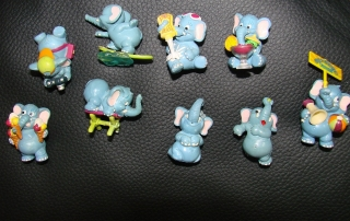 9 Ü-Ei Elefanten wie Happy Hippo