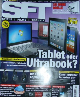 SFT Magazin Spiele, Filme, Technik