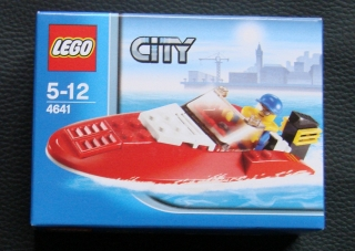 Originalbild zum Tauschartikel LEGO City Boot 4641 - Speedboot