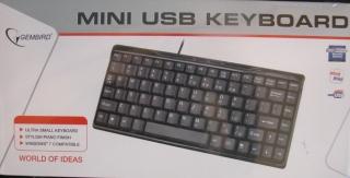 Mini USB-Tastatur GEMBIRD schnurgebunden