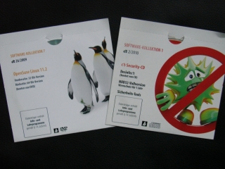 Originalbild zum Tauschartikel CT Software CD System Tools + Suse Linux