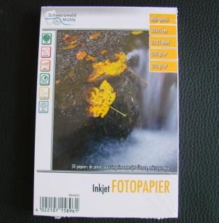 Fotopapier 50 Stück 10x15 cm Inkjet