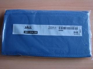 Hängeaufbewahrung blau für Schrank IKEA