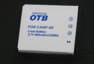 Casio ErsatzAkku für Kamera Exilim NP-6