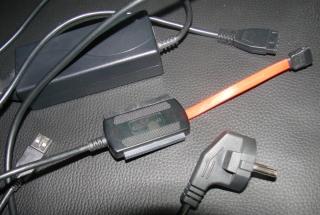 Adapter SATA IDE auf USB - HDD überspiel