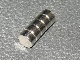 Neodym Magnete Rund 5 Stück im Set
