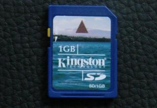 Kingston 1GB Secure Digital (SD-Karte)