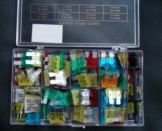 KFZ Flachsicherungen Sortiment Sicherung