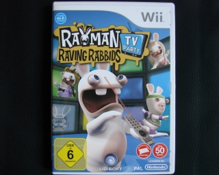 Originalbild zum Tauschartikel Rayman Raving Rabbids TV-Party Wii Spiel