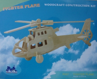 Originalbild zum Tauschartikel Fighter plane Kit aus Holz Woodcraft