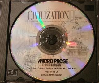 Sid Meiers Civilization II PC-Spiel CD