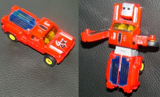Originalbild zum Tauschartikel MC TOY Transformer 4x4 Pickup von 1984