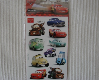 Originalbild zum Tauschartikel Cars Sticker McQueen Hook Luigi