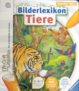 Tiptoi Lernbuch Tierlexikon Mini-Spiele