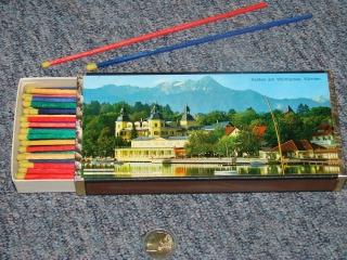 Riesen Streichhölzer original Schachtel