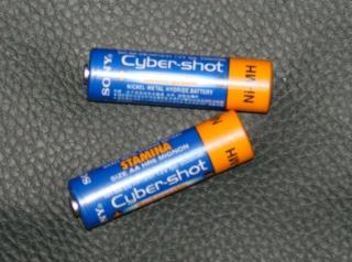 AA NiMH Batterie 2500mAh Akku Sony