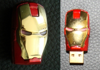 Originalbild zum Tauschartikel Iron Man Marvel USB-Stick mit 512 GB