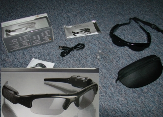 Mini DV Sonnenbrille Brille Spion Kamera